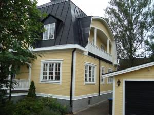 Utomhus målning i Täby1